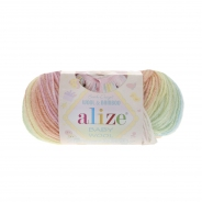 Baby Wool Batik (Шерсть-40%, Бамбук-20%, Акрил-40%, 50гр/175м)