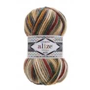 Superlana Maxi Multicolor (25% Шерсть, 75% Акрил, 100гр/100м)