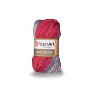 Jeans Crazy YarnArt (Хлопок - 55%,  Полиакрил - 45%, 50гр/160м)