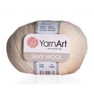 Silky Wool (65% шерсть мериноса, 35% искуственный шелк)