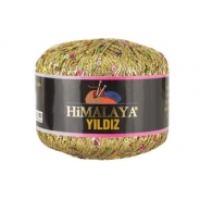 Yildiz  HIMALAYA (76% люрекс, 24% пайетки, 25гр/393м)