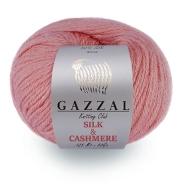 GAZZAL SILK CASHMERE  (50% Шелк, 20% Кашемир, 30% Мериносовая шерсть, 50гр/125м)