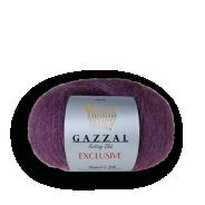 Gazzal EXCLUSIVE  (50%шелк,10%кид-мохер,40%меринос, 25гр/190м)