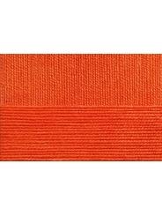Пряжа Пехорка Бисерная 89 (Яркооранжевый)