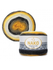 Пряжа Nako Angora Luks Color 81908