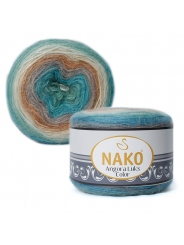 Пряжа Nako Angora Luks Color 81906