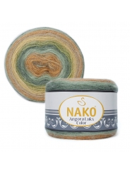 Пряжа Nako Angora Luks Color 81912