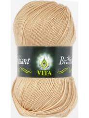 Пряжа Вита Бриллиант 5108 (Топленое молоко)