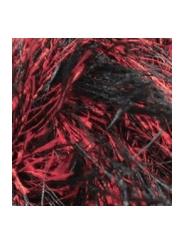 Пряжа Alize Decofur 1381 (черный-красный)