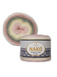 Пряжа Nako Angora Luks Color 81904