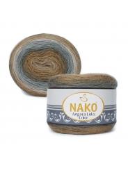 Пряжа Nako Angora Luks Color 81907
