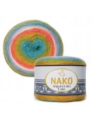 Пряжа Nako Angora Luks Color 81910