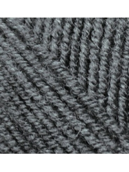 Пряжа Alize Superlana Midi 182 (серый меланж)
