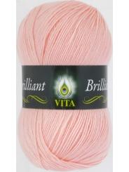 Пряжа Вита Бриллиант 5109 (Нежно розовый)