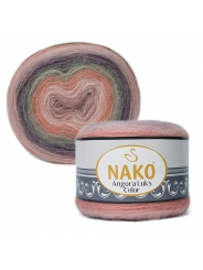 Пряжа Nako Angora Luks Color 81915