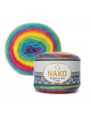 Пряжа Nako Angora Luks Color 81920