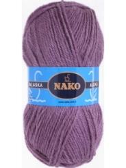Пряжа Nako Alaska 7110 (пыльная роза)