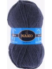 Пряжа Nako Alaska 7114 (серо-голубой)