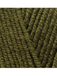 Пряжа Alize Superlana Midi 214 (оливковый зеленый)