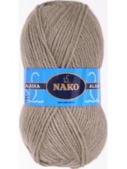 Пряжа Nako Alaska 7115 (серо-бежевый)
