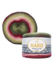 Пряжа Nako Angora Luks Color 81909