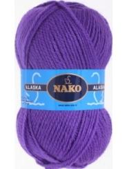 Пряжа Nako Alaska 7112 (фиолетовый)