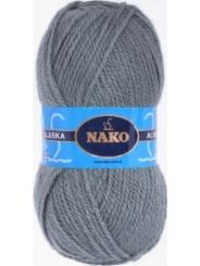 Пряжа Nako Alaska 7116 (серый)