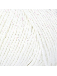 Пряжа Nako Calico Simli 00208 (белый)