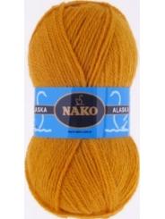 Пряжа Nako Alaska 7105 (золото)