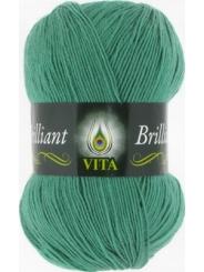 Пряжа Вита Бриллиант 5117 (Зеленая бирюза)