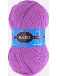 Пряжа Nako Alaska 7109 (яр.цикламен)