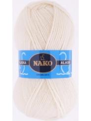 Пряжа Nako Alaska 7103 (экрю)