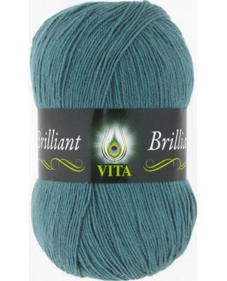 Пряжа Вита Бриллиант 5116 (Дымчато голубой)